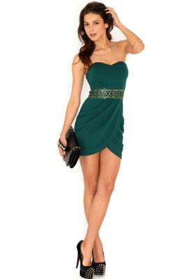 Платье-бандо   Кому подходит и с чем носить платье-бандо