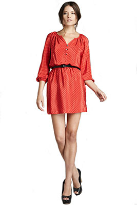 платье блузон фото