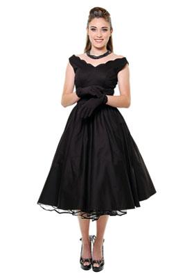 Современный вариант платьев в стиле 50-х - платье-цветок с пышной многослойной юбкой...