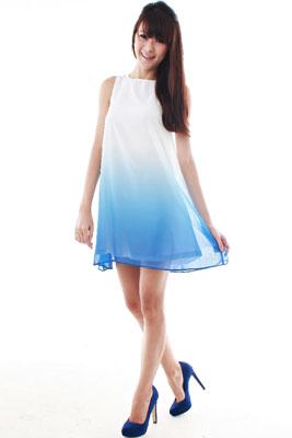 силуэтные линии фасонов Dress-trapeze-style3