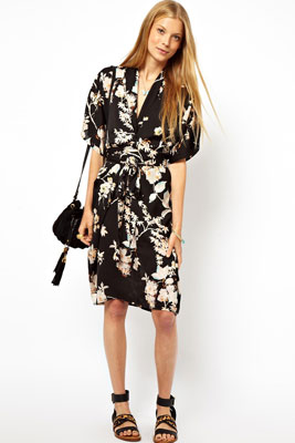 Платье халат бренды