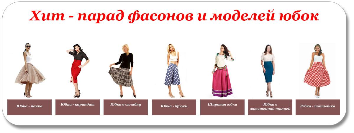 Модели юбок фото с названиями