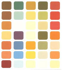 Цветовая палитра для цветотипа осень