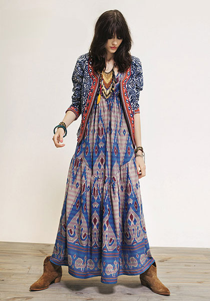 Одежда в стиле Хиппи | Платья, юбки, брюки, верхняя часть наряда ...
