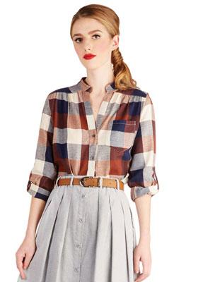 блузы в стиле ретро
