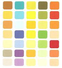 Цветовая палитра для цветотипа весна