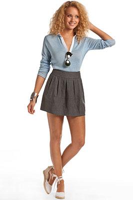 женские рубашки-поло фото