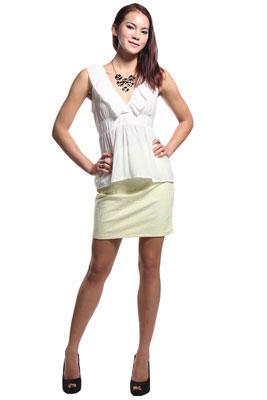 Купить блузку с в образным вырезом