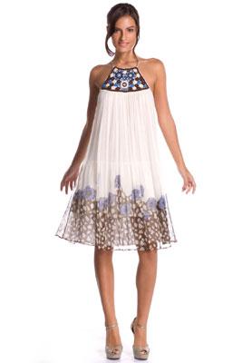 Платье а-силуэта кому идет
