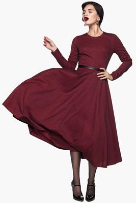 Фото платьев в стиле нью-лук