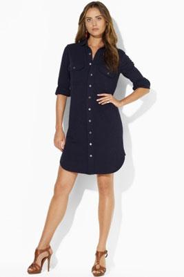 Платье в форме рубашки