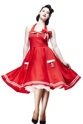 Фасоны платьев в стиле 50 годов