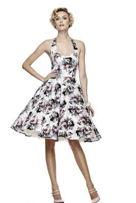 Платье сарафан в стиле 50