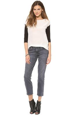 daf7694fee9 Женские укороченные джинсы ...