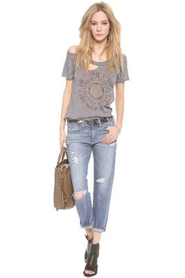 5b92ebc5e9b ... Женские укороченные джинсы ...