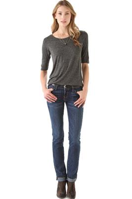 Низкая талия джинсы