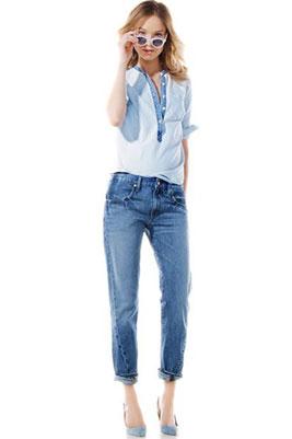 Женские зауженные джинсы к низу, Как заузить джинсы снизу