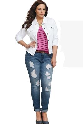 Размеры женских джинсов