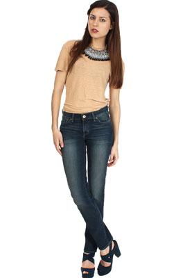Женские узкие джинсы   С чем носить узкие джинсы 21e3bc88933