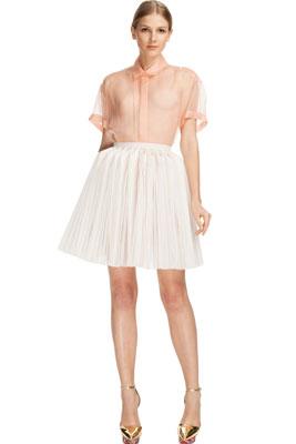 Плиссированная юбка для невысоких