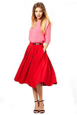 Верх для платья у юбки полусолнце