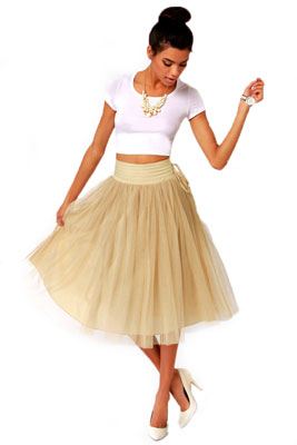 Широкая юбка