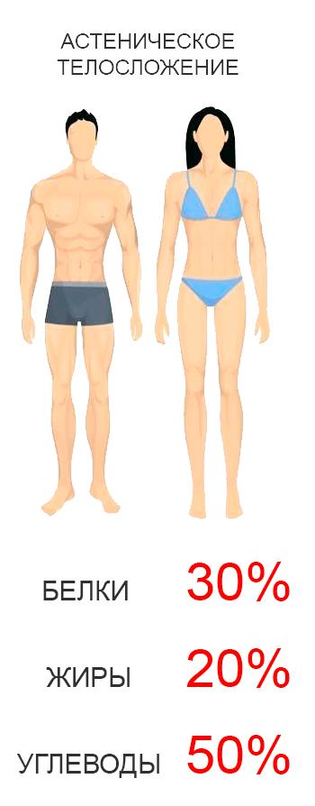Астенический тип телосложения