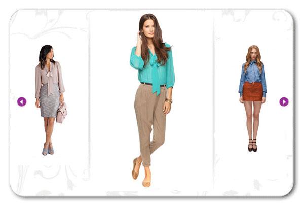 Фасоны женских блузок