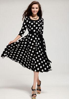 Платье ретро стиль картинки