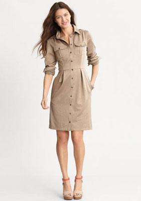 Платье и юбки сафари