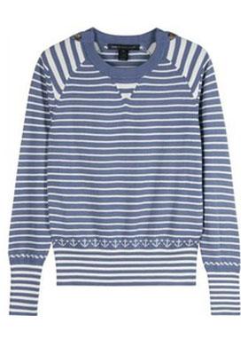 Блузка в морском стиле
