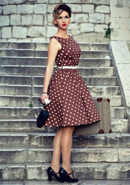 Платья в стиле стиляги с выкройками фото 994