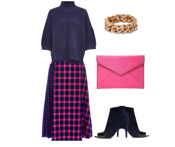 С носить розовую юбку