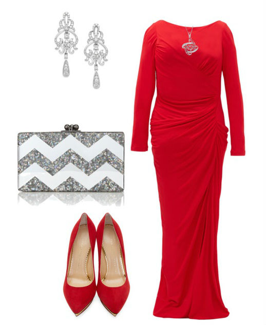 86b5a1d351614d1 С чем носить красное платье: футляр, короткое и в пол, зимой и летом