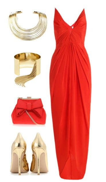 d1c789d803f1 С чем носить красное платье  футляр, короткое и в пол, зимой и летом