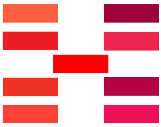 Красный цвет холодный или тёплый