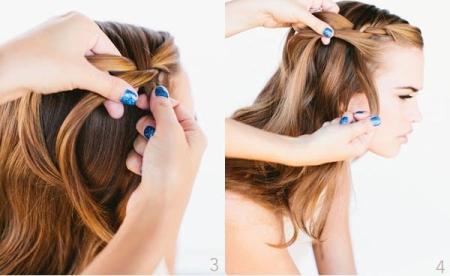 Водопад из кос: фото