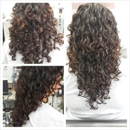 Распущенные волосы: фото