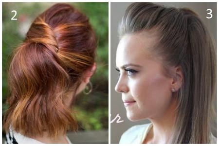 20 красивых и простых причесок на средние волосы 28