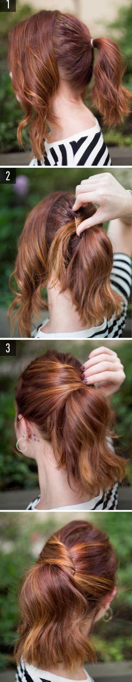 pricheski-na-srednije-volosy-5 Прически на средние волосы: 100 фото самых стильных укладок