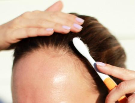 Усмирить короткие волоски: фото