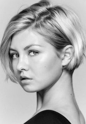 Женская стрижка Боб-Каре на круглое лицо: фото