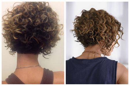 каре для вьющихся волос: фото