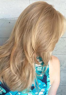 Стрижка на длинные волосы с челкой: фото