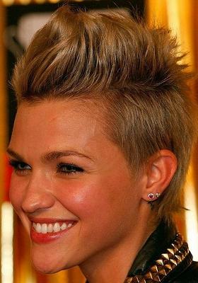 Женские короткие стрижки с челкой: фото