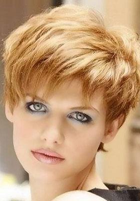 Причёски на густые волосы короткие