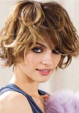 Фото стрижки для волнистых волос