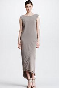Платье длинное прямое фото