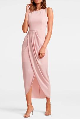 Приталенное коктейльное платье