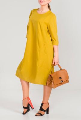 Платья а-силуэта для невысоких женщин